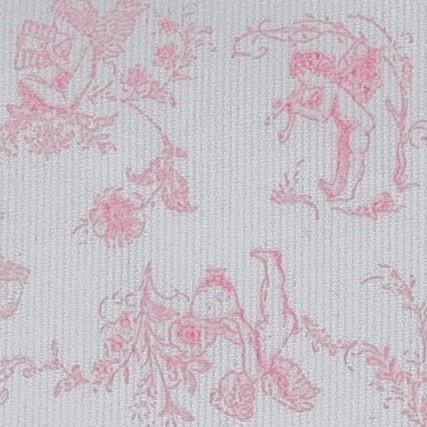 Toile de jouy rosa