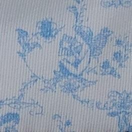 Toile de jouy azul
